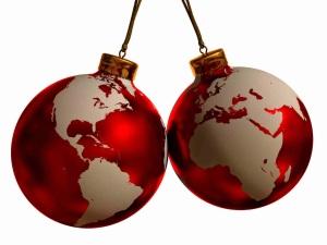 Christmas Decorations Around the World Baubels